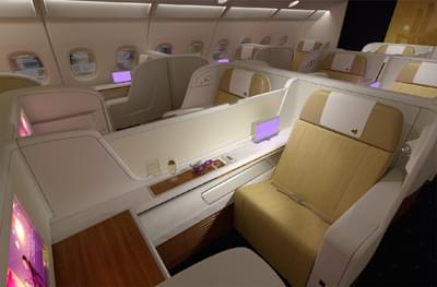 Thai Airways' first class