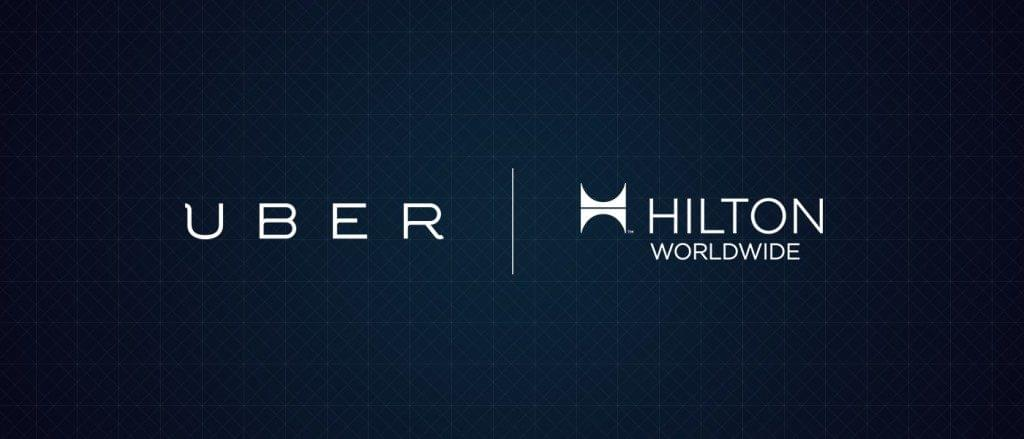 Hilton has integrated Uber into its mobile app