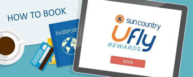 How to Book Sun Country Airlines Ufly Awards