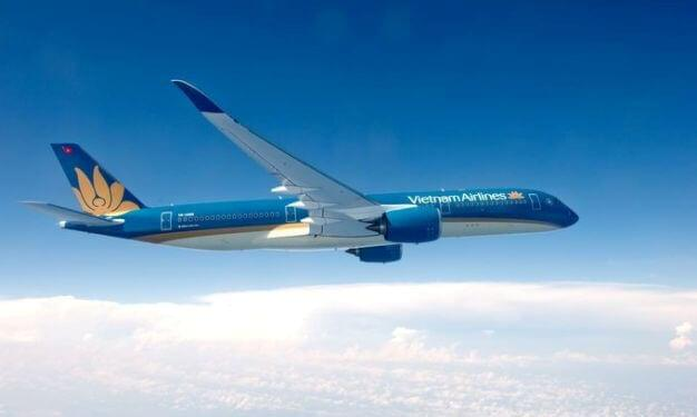 Vietnam Airlines is now flying the new A350 XWB