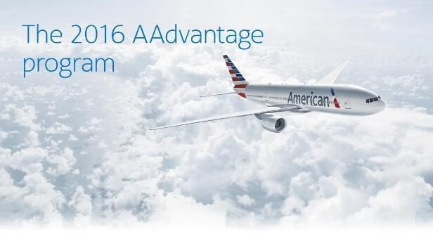 American Airlines AAdvantage program is changing in 2016