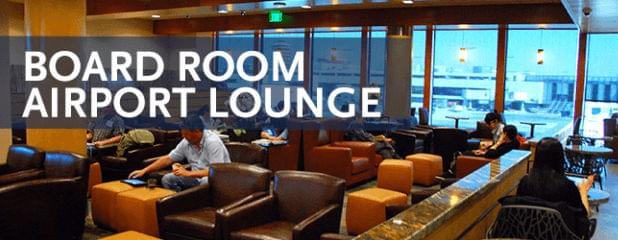 New Alaska Airlines\' Board Room Lounge in Seattle