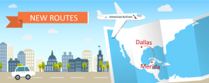 American Airlines Now Flying to Mérida From Dallas