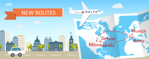 More Transatlantic Flights From Delta