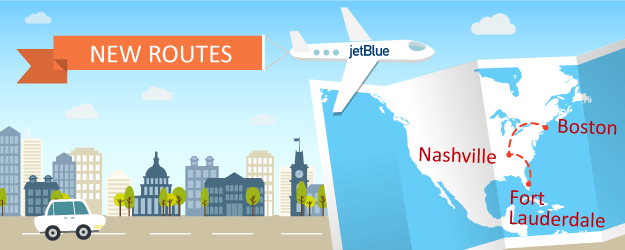 JetBlue Goes Country With New Routes to Nashville