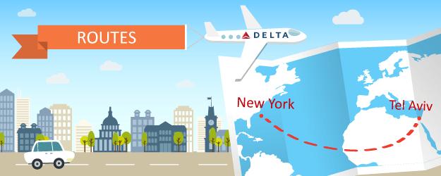 Delta Adds More Nonstop Flights Between New York and Tel Aviv