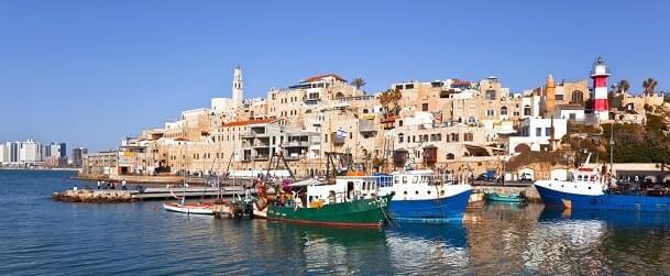 Jaffa in Tel Aviv, Israel