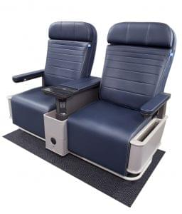 United's new first class seats for its narrow-body aircraft