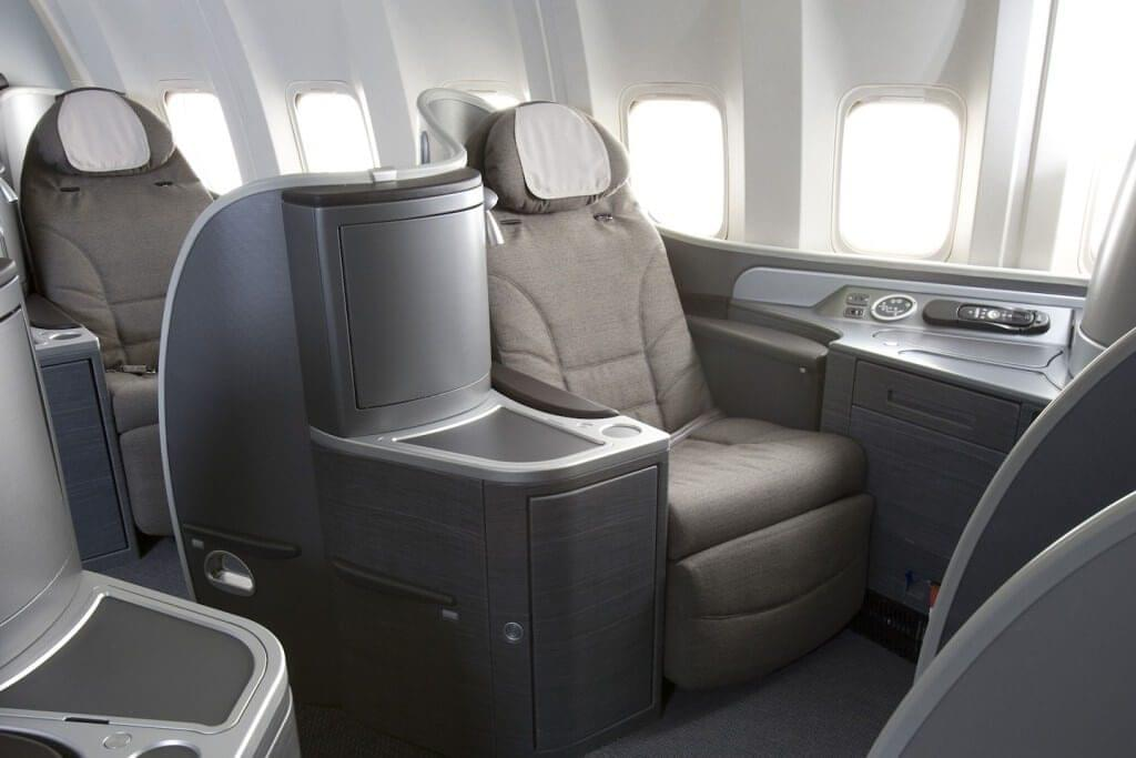 United's Global First class