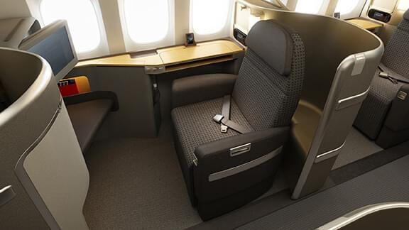 First class on Americans' 777 aircraft