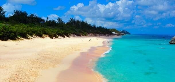 Bermuda's pink sands