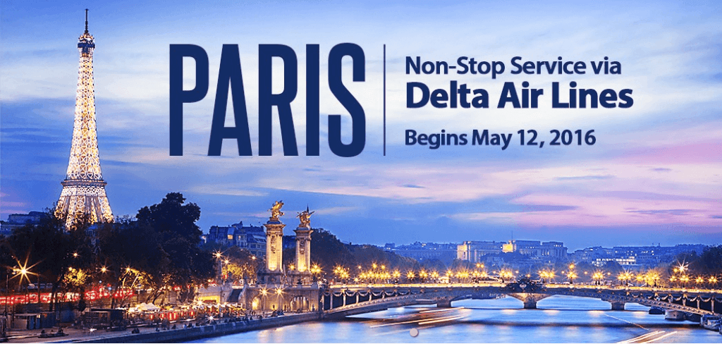 Delta's introducing new daily nonstop service from Raleigh-Durham to Paris