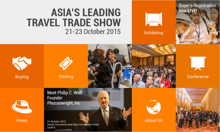 ITB is one of the biggest travel trade shows