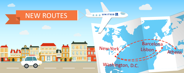 United Is Adding Three More Transatlantic Routes This Year