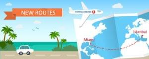 Miami to Istanbul on Turkish Airlines