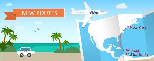 JetBlue Opens Up Antigua and Barbuda