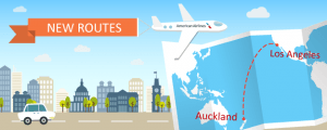 American Airlines Adds Los Angeles to Auckland