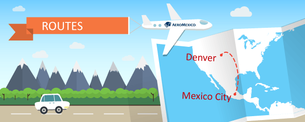Aeromexico Adds Seasonal Flights Between Mexico City and Denver