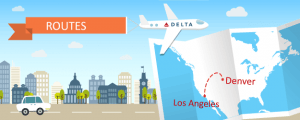 Delta Adds Five Daily Flights Between Denver and Los Angeles
