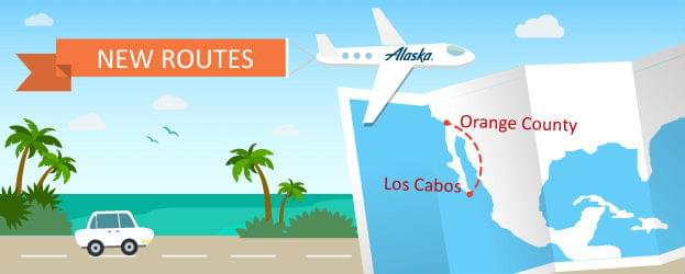 Alaska Airlines Is Flying From Orange County to Los Cabos