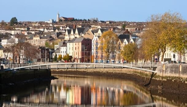 St. Patrick's Quay in Cork