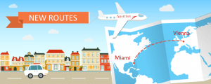 Austrian Airlines Comes to Miami
