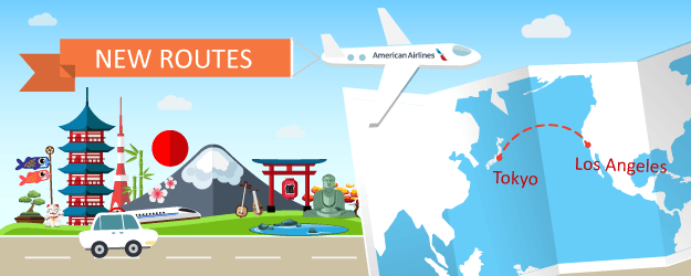 Fly From Los Angeles to Tokyo on American Airlines