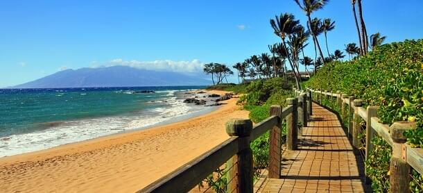 Wailea Beach in Maui