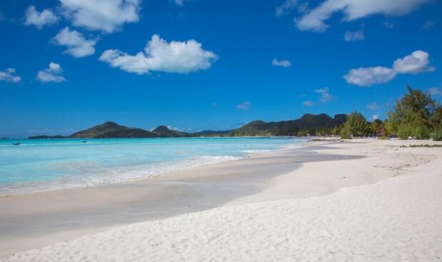 Antigua and Barbuda have 365 beaches
