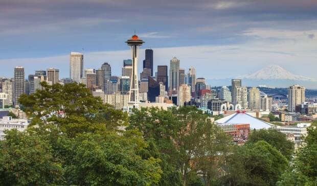 Seattle's skyline