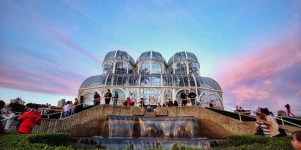 The Botanical Garden in Curitiba