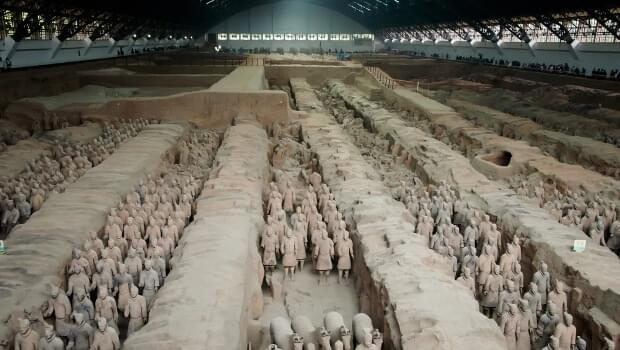 Xi'an is famous for its Terracotta Army