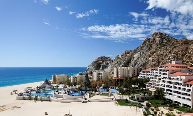 A resort in Los Cabos