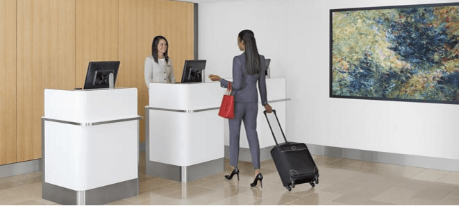 You can relax while waiting for the flight and enjoy access to worldwide network of Admirals Club locations