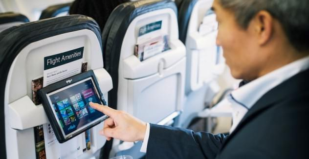 Alaska Airlines has upgraded all its class cabins and released a new digital entertainment system. / Credit: Alaska Airlines