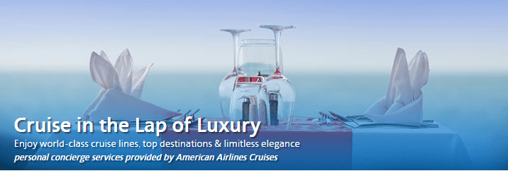 Book through American Airlines Cruises and keep you miles from expiring