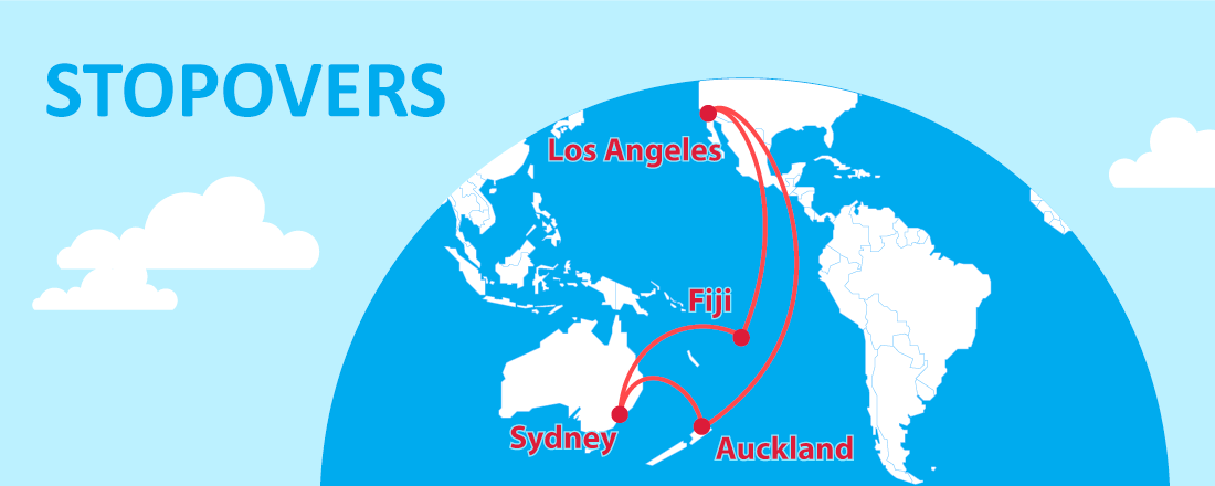 See Fiji, Australia and New Zealand With Stopovers on Alaska Airlines