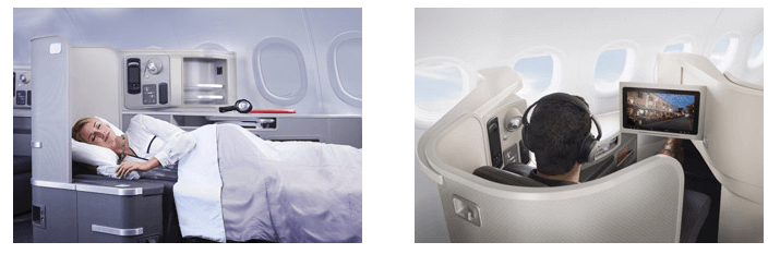 Features of the First Class of the Airbus A321T