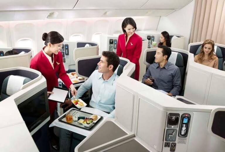 Cathay Pacific has of the world's top business-class cabins. / Credit: Cathay Pacific