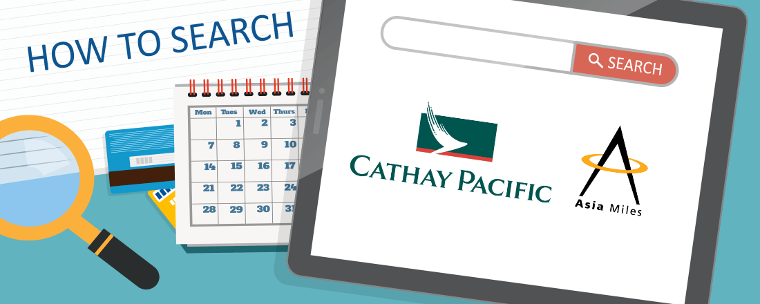 How to Search for Award Space on Cathay Pacific