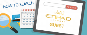 How to Search for Award Space on Etihad Airways