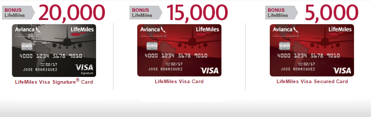 Lifemiles Visa Credit Cards