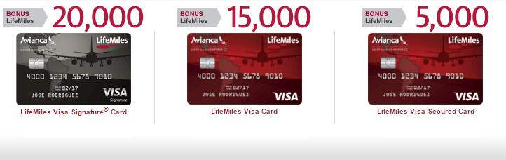 Lifemiles Visa Credit Cards