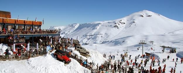 A ski station in Chile