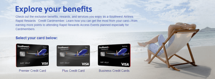 Chase issues Southwest Rapid Rewards Credit Cards