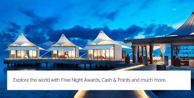 Earn Starpoints, which can be used to redeem free nights at more than 1,200 hotels around the world