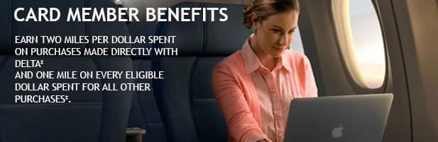 The Platinum Delta Skymiles business card comes with very valuable benefits and without a huge cost