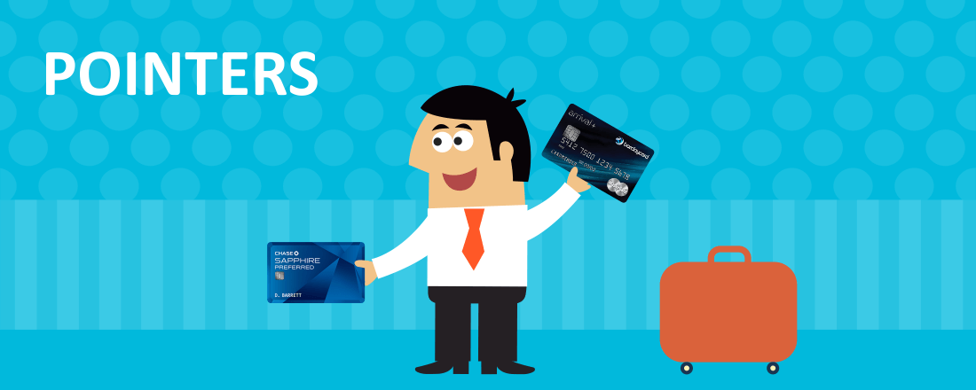 Chase Sapphire Card vs. Barclaycard Arrival Plus World MasterCard