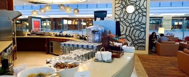 Emirates lounge interior