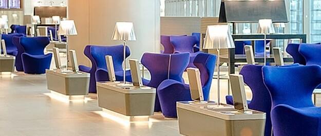 Qatar Privilege Club Lounge
